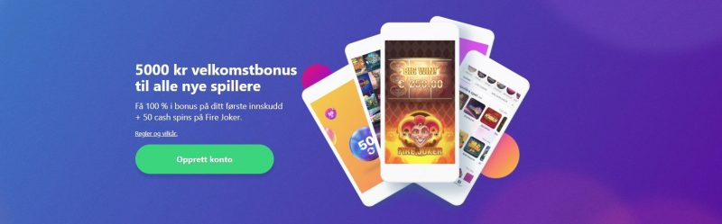 velkomstbonus hos dreamz casino