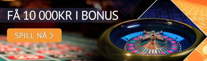 velkomstbonus hos spin palace casino