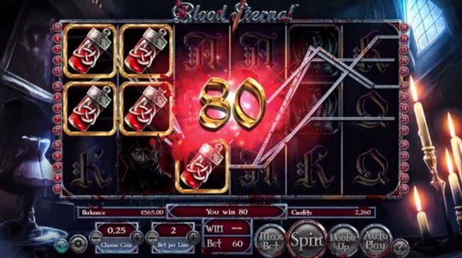 Blood Eternal Spilleautomat fra Betsoft