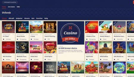 Folkeautomaten casino spill