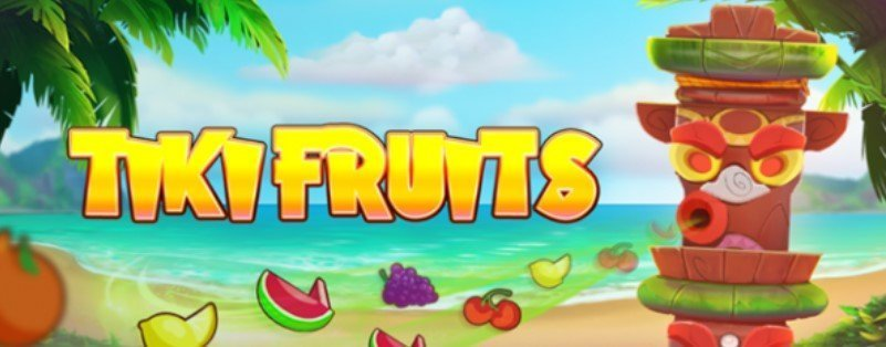 Tiki Fruits spilleautomat av Red Tiger Gaming