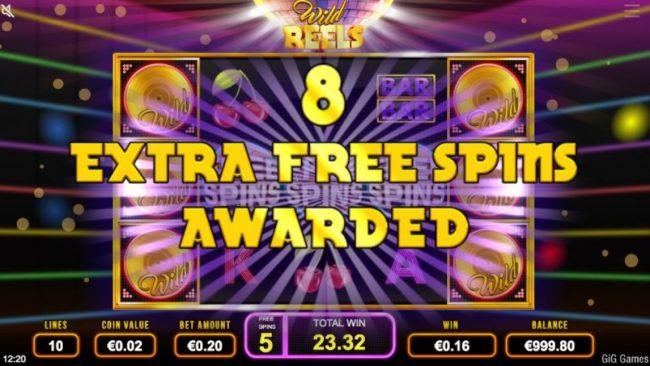 Wild Reels Spilleautomat fra GiG Games