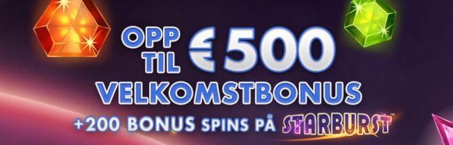 Cheeky Riches Casino velkomstbonus