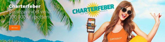 Betsson casino Charterfeber promo