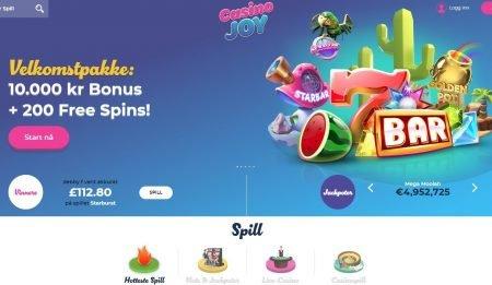 Casino Joy skjermbilde