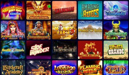 Kahuna casino skjermbilde