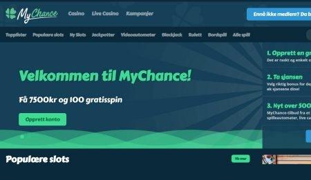 Mychance Casino skjermbilde
