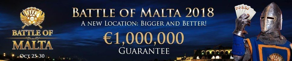 battle of malta poker turnering