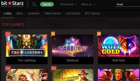 bitstarz casino skjermbilde