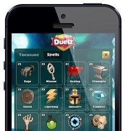 duelz casino på mobilen