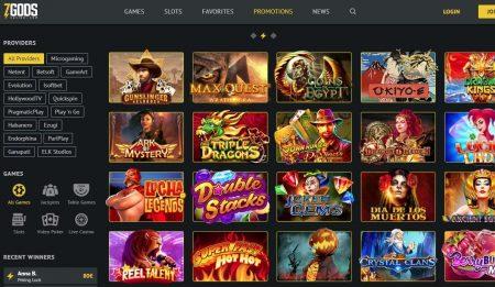 7 gods casino skjermbilde