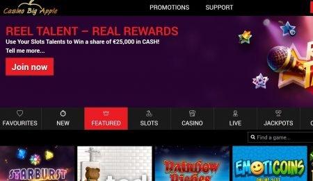 Casino BigApple omtale