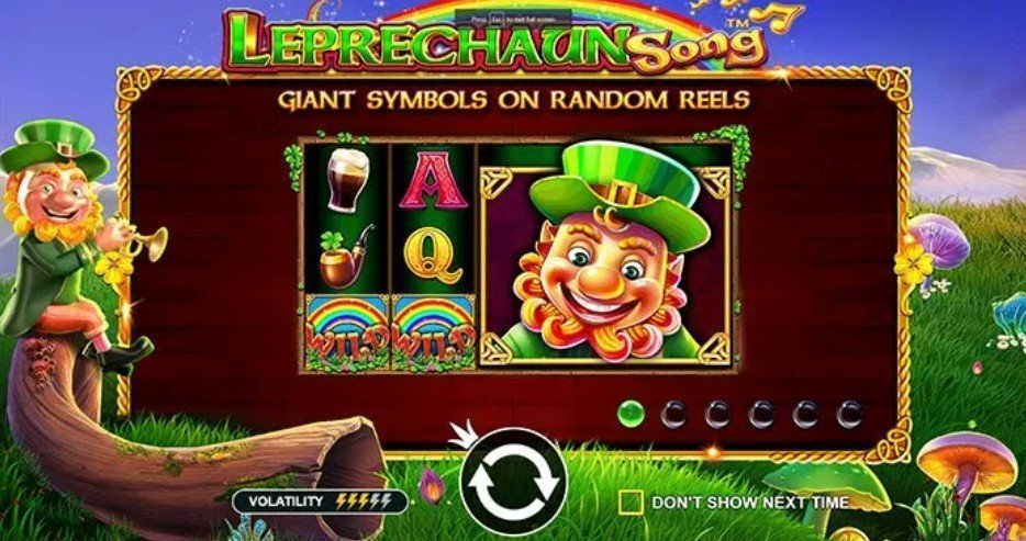 Leprechauns Song pragmatic Play spilleautomat