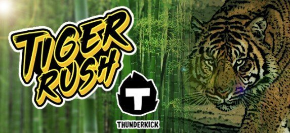 Tiger Rush Thunderkick Spilleautomat