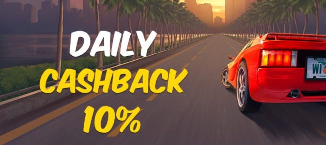 daily cashback hos hotline casino