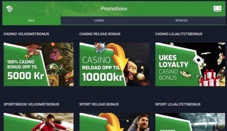 kampanjer og bonuser hos evobet casino
