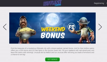 ukentlige bonuser hotline casino