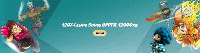 velkomstbonus hos SvenBet casino