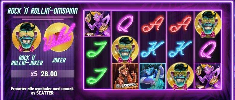 Banana Rock Spilleautomat Play'n GO 2