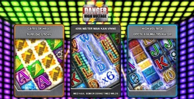 Danger High Voltage Big Time Gaming Spilleautomat