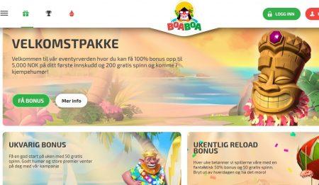 Kampanjer hos Boa Boa Casino