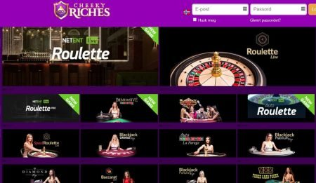 Live Casino hos CheekyRiches Casino