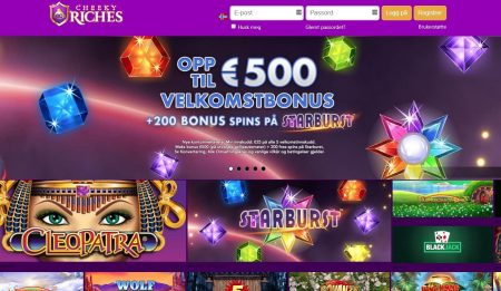 Skjermbilde av Cheeky Riches Casino