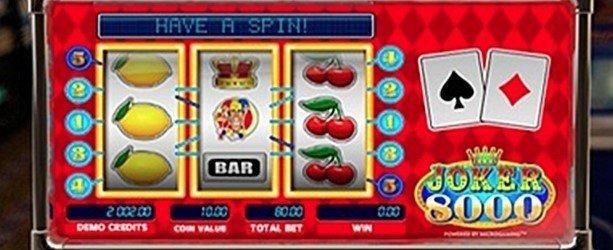 spill joker 8000 spilleautomat gratis