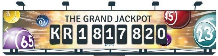 Bingo.com jackpot og spill