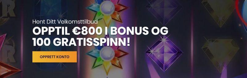 Casiplay Casino Velkomstbonus
