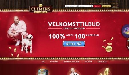 Clemens Spillehal Skjermbilde