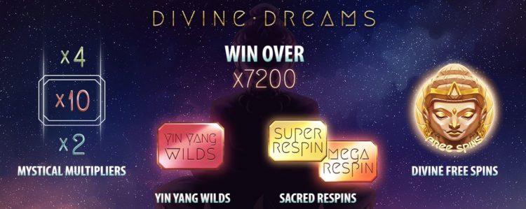 Divine Dreams Spilleautomat fra Quickspin