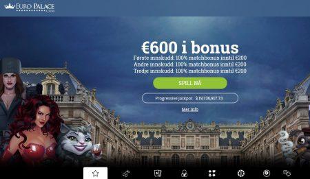 Euro Palace Casino Skjermbilde