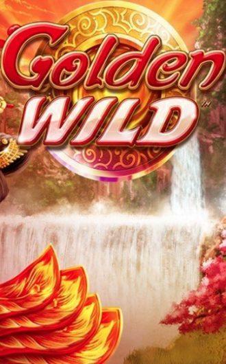 Golden Wild Leander Games Spilleautomat Logo