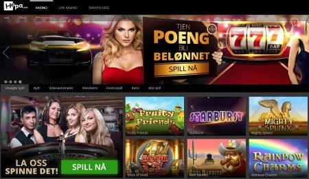 Hopa Casino Skjermbilde