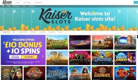 Kaiser Slots Casino Skjermbilde