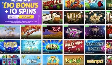 Kaiser Slots Spillutvalg Casino