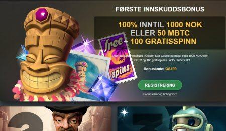 Kampanjer og bonuser hos golden star casino