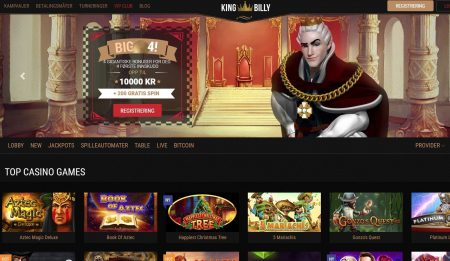 King Billy Casino Skjermbilde