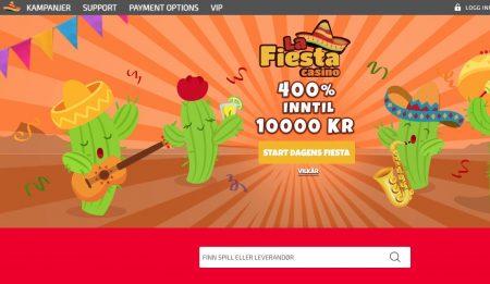 La Fiesta Casino Skjermbilde