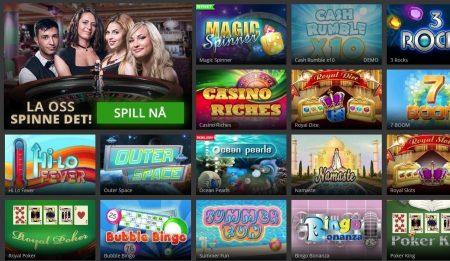 Skrapelodd og Casinospill hos Hopa casino