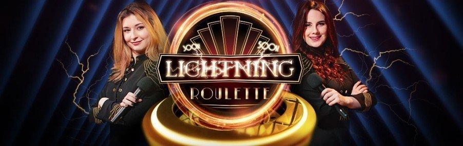 Spill Lightning Roulette Live Casino