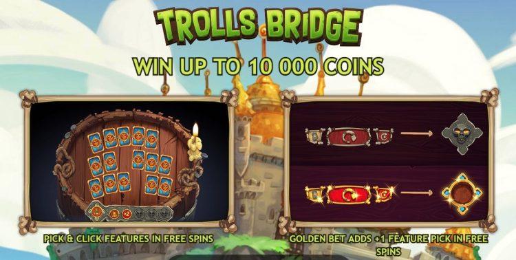 Trolls Bridge Yggdrasil Spilleautomat