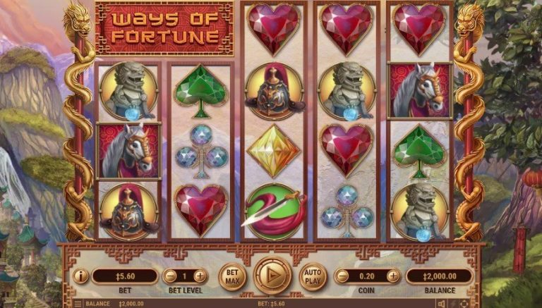 Ways of Fortune casinotopplisten