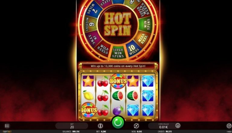 Hot Spin casinotopplisten