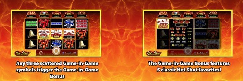 Hot Shot Progressive Spilleautomat Scientific Games. Funksjoner