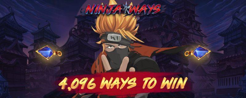 Ninja Ways Spilleautomat fra Red Tiger Gaming