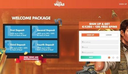 bonuser og kampanjer hos slotty vegas casino
