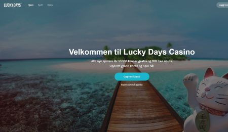 lucky days casino omtale
