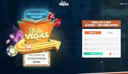 slotty vegas casino skjermbilde